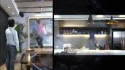 دوربین چشم ماهی ژئوویژن، مجهز به  لامپ های  IR LED