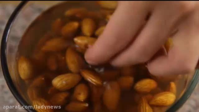 طرز پخت خورشت بادام