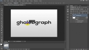 آموزش ساخت متن سه بعدی در فتوشاپ (3d)