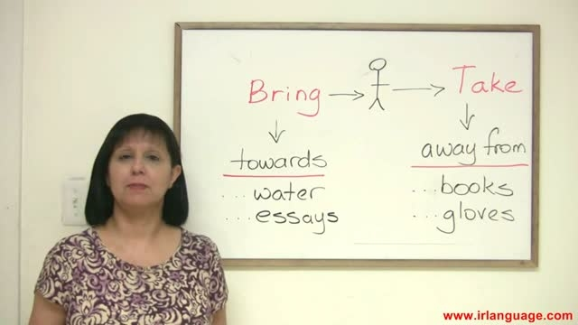 آموزش زبان-قسمت24- Bring or Take- - Confusing words