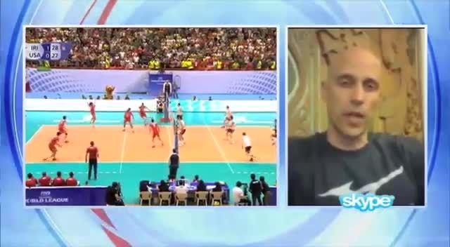 تحلیل سرمربی تیم ملی والیبال آمریکا از شکست مقابل ایران