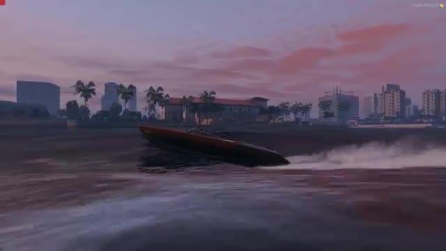 مود شهر vice city در بازی GTA V PC