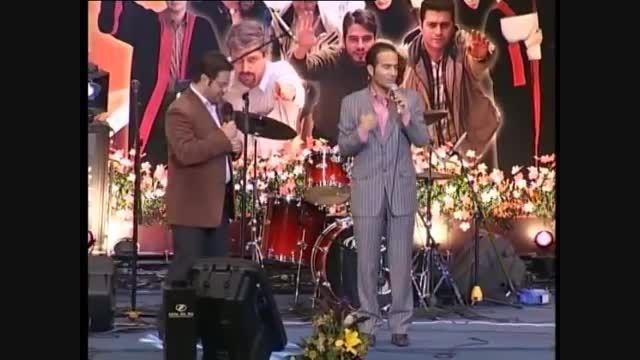 طنز شاد و صداسازی بسیار خنده دار و شاد حسن ریوندی و سید
