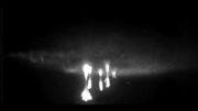 حرکت آهسته جرقه های نور