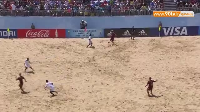 خلاصه فوتبال ساحلی: ماداگاسکار ۲-۴ روسیه