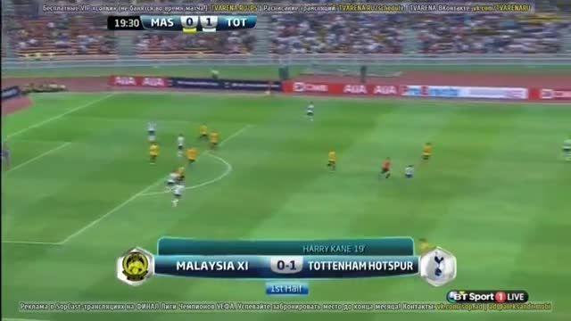 خلاصه بازی : تاتنهام 2 - 1 ستارگان مالزی (دوستانه)