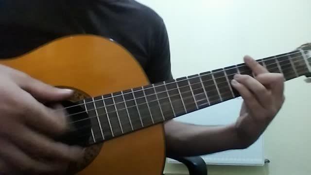 اجرای آهنگ باور سیامک عباسی با گیتار