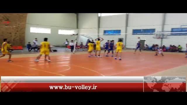 مسابقات والیبال امیدهای استان بوشهر  ریز - گناوه