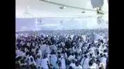 حج-حضور ایرانیان با پرچم ایران در حج