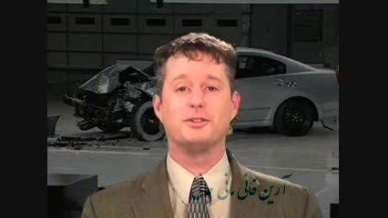 تست تصادف Mitsubishi Galant crash test