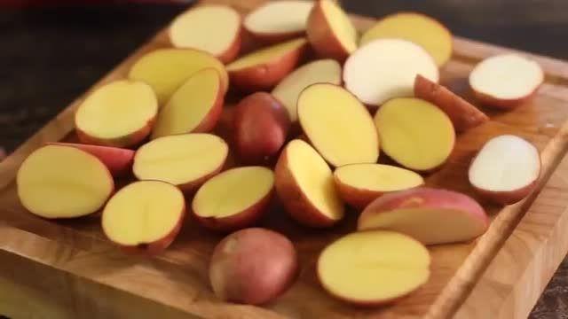 سیب زمینى كبابى