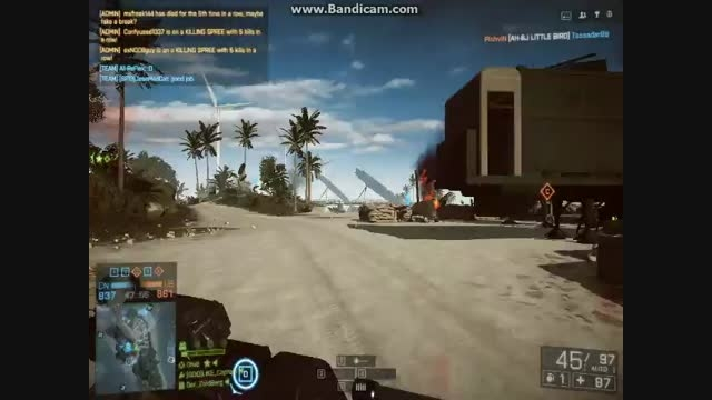 BF4 IN PARACEL STORM