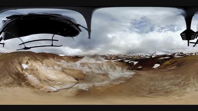 ویدیو 360 درجه از ایسلند