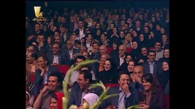 حضور جالب توجه اصغر فرهادی در کنسرت خنده حسن ریوندی