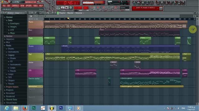 آهنگ تایتانیک در اف ال استودیو