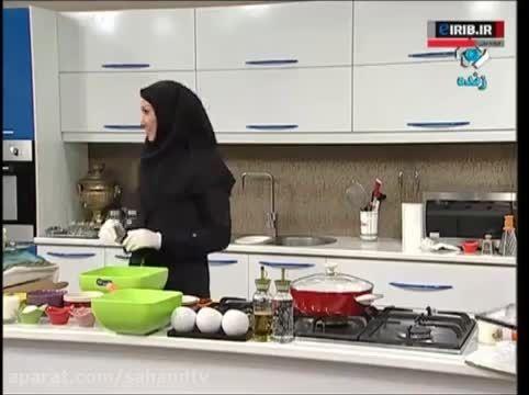 آموزش آشپزی باقلوا گوشت ترکی
