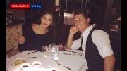 عکس به یادماندنی کریس رونالدو و نامزدش