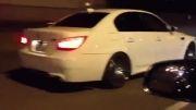 درگ BMW M5 E60 و Audi S8
