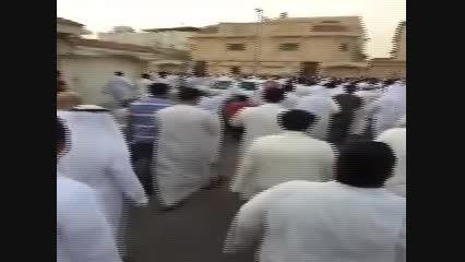 ندای لبیک یا حسین بعد از انفجار مسجد امام حسین ع
