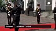 ویدیو زنده از حمله قلبی یه سرباز بیچاره