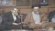 شعرخوانی استاد شهریار در محضر رهبر انقلاب