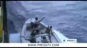 شکار دزدان دریایی توسط نیروی دریایی ایران
