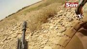 درگیری و تیر خوردن سرباز آمریکایی