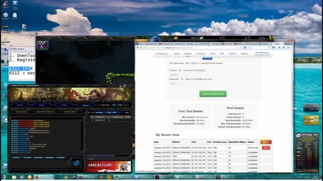 How To DDoS Someone IP On Garena