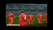 بازی PES2013 با لیگ برتر ایران با گزارش فارسی بهنوش بختیاری