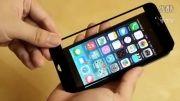مقایسهی صفحه نمایش آیفون 5S با صفحه نمایش آیفون 6