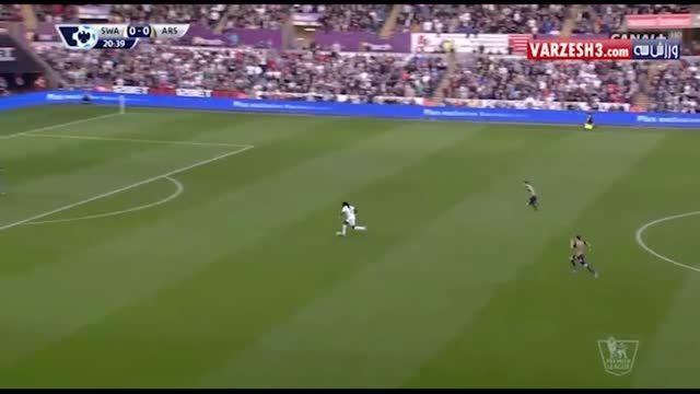 یه مدافع چه قد میتونه سریع باشه آخه!!! (هکتور بیرین)