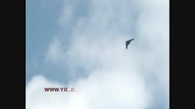 مانورهای دیدنی پهباد فوق پیشرفته RQ 170 ایرانی