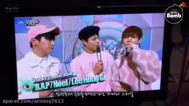 BANGTAN BOMB] Music bank special MC V
