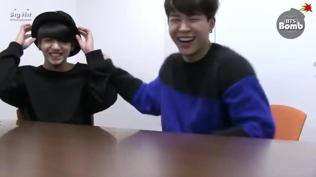 BTS _ Jimin's Cute Laugh and Song