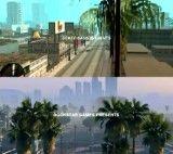 مقایسه کیفیت GTA V و GTA San Andreas
