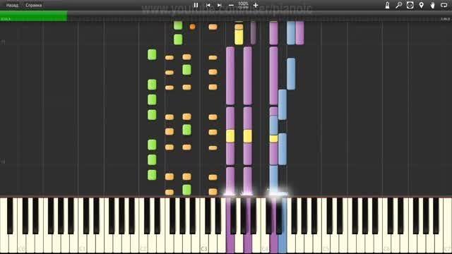 اجرای Do You Wanna با نرم افزار پیانو - سرعت 100%