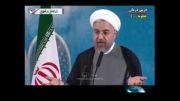 واکنش سردرگم تلویزیون ایران به اظهارات دکتر روحانی