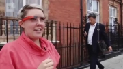 عینک گوگل Google Glass hands-on- UK testing