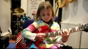 7 year old plays Sweet Child O Mine