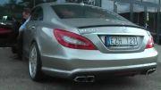 صدای اگزوز Mercedes Benz CLS 63 AMG
