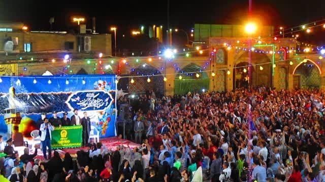 برگزاری جشن میلاد امام رضا (ع)|امامزاده حسین (ع) قزوین