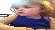 احساسات یه بچه ناز با اهنگ !!! خیلی جذاب و دوست داشتنیه !!!