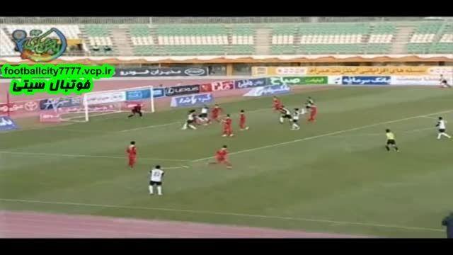 خلاصه بازی صبای قم 0 - 0 پدیده مشهد (لیگ برتر ایران)