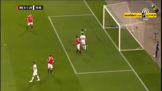 گل های بازی اسطوره های منچستر یونایتد 4 - 2 لیورپول