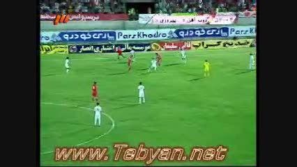 گلهای زیبا لیگ برتر ایران لیگ نهم