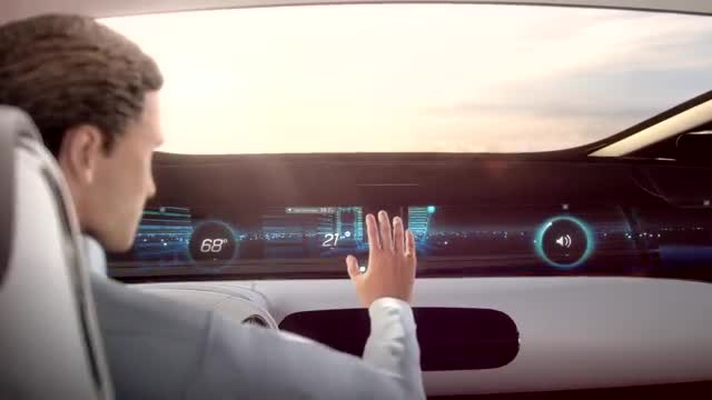 آینده ایی نه چندان دور با تکنولوژی های مدرن مرسدس بنز