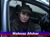 مصاحبه مهناز افشار