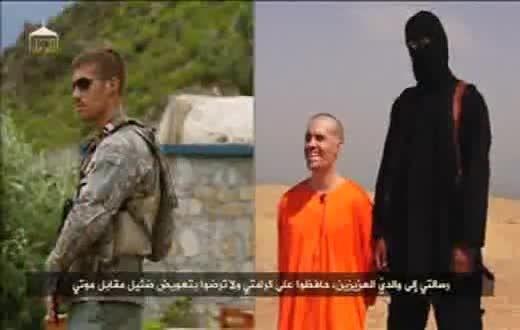 سربریدن خبرنگار امریکایی توسط داعش