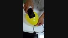 ساخت قاب حرفه ای آیفون با یک بادکنک ساده