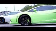درگ Lamborghini Gallardo LP560-4 vs. Lamborghini Gallardo